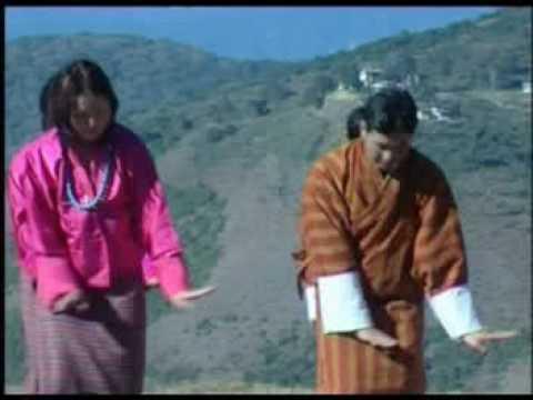 Bhutanese music video - Rang Sem Kar Ga Mikar