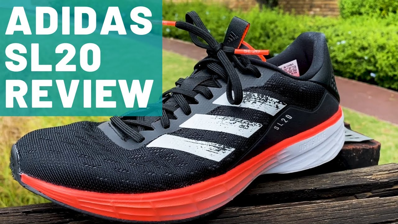 Sophie ayudante sentido común  Adidas SL20 Full Review: Is Lightstrike the New Boost? - YouTube
