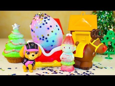 Мультики про игрушки Щенячий патруль СКАЙ и Сюрприз на Новый год Новые мультфильмы для детей