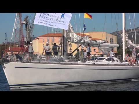 départ des grands voiliers de la Tall Ships Regatta 4/11