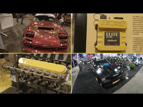 Haltech at SEMA 2017 - New products and stand