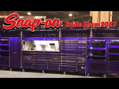 Snap-on Wednesday!! 2017 Snap-on Trade Show (SFC2017)