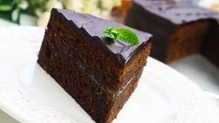 Торт Захер по Домашнему Просто и без заморочек Шоколадный Торт