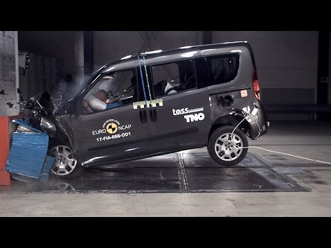 Fiat Doblo Crash Test Euro NCAP   Rating: ★★★✩✩
