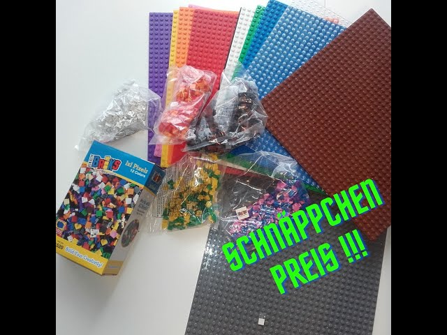 Baseplates und Fliesen Mega günstig! - Super Angebot von Stricktly Briks - LEGO stinkt dagegen ab