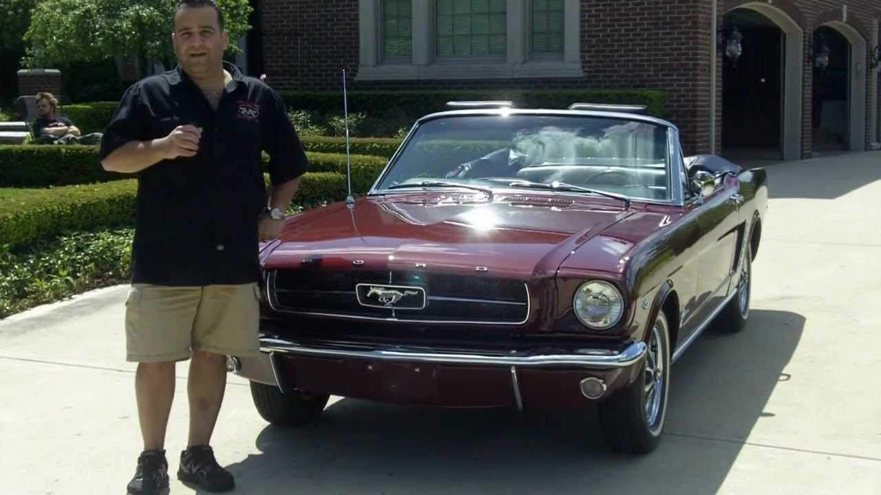 1965 Ford Mustang Convertible Classic Muscle Car For Sale In Mi Vanguard Motor Sales Youtube