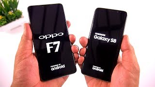 Oppo F7 vs Samsung Galaxy S8 Speed Test [Urdu/Hindi]
