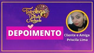 TAROT - Cliente - depoimento Priscila