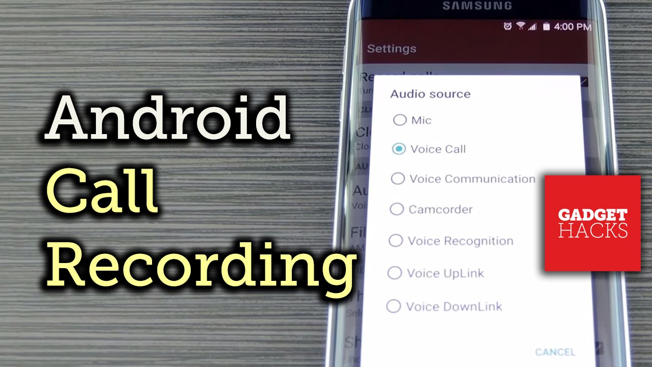 Automatically Record Your Phone Calls on Android [How-To]