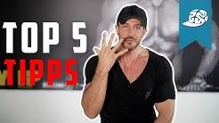 Muskelaufbau Top5 Tipps für Beginner und Einsteiger