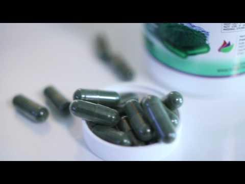 ORGANIC SPIRULINA ✮ MAX 3000mg 180 Vegan Capsules