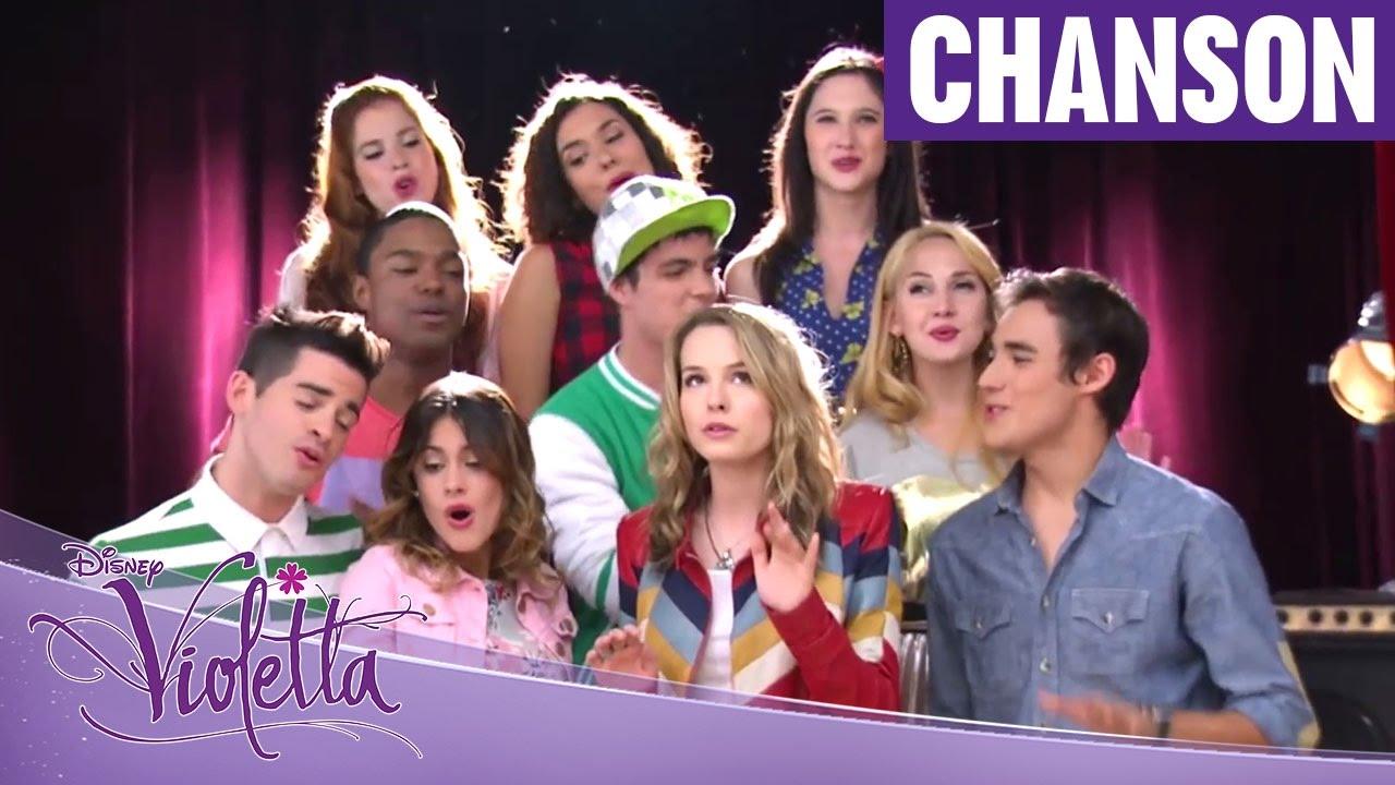 Violetta saison 2 hurricane avec bridgit mendler pisode 11 exclusivit disney channel - Musique violetta saison 2 ...