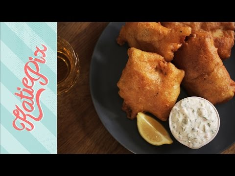 Speedy Beer Battered Fish Recipe | Katie Pix