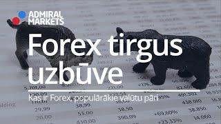 Forex tirgus uzbūve