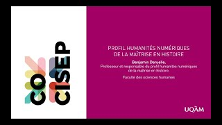 Humanités numériques en histoire
