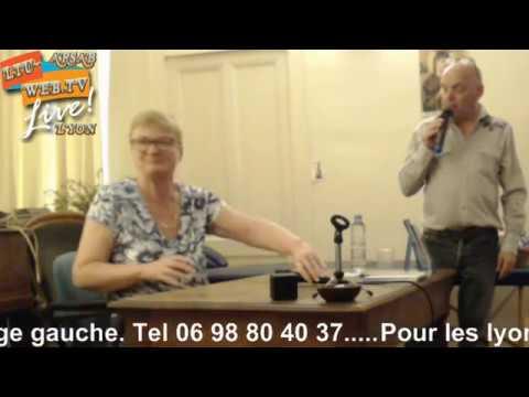 Conférence médiumnique avec Christine Rousseaux Arsab de Lyon