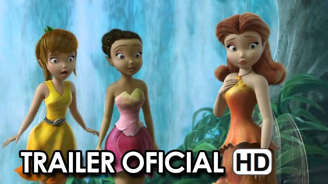 Tinker Bell Fadas E Piratas Trailer Oficial 2014 Hd Youtube