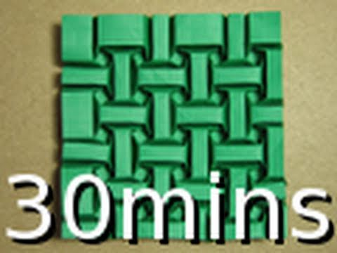 Short Version Origami Tessellation Guide Tessellesson On Bricks By