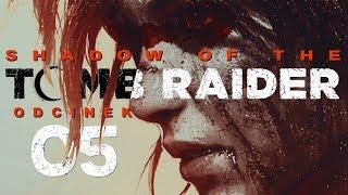 Shadow of the Tomb Raider (PL) #5 - Młoda Lara Croft (Gameplay PL / Zagrajmy w)