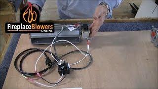 Fireplace Blower Kit Comparison - Ours Vs. Cheap Ebay & Amazon Kits
