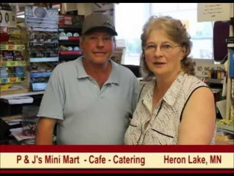 Heron Lake Minnesota's P & J's Mini Mart on Our Story's The Tourists