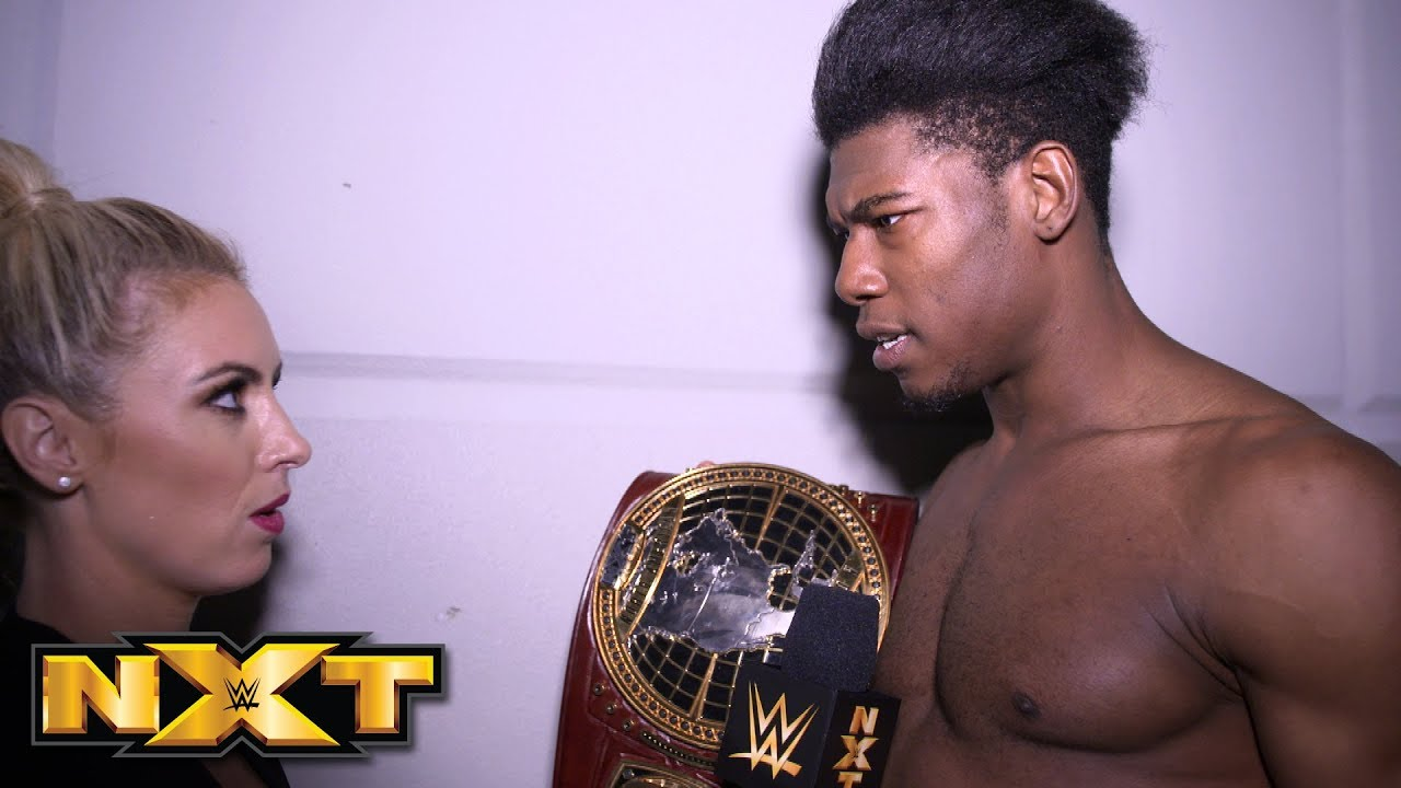 Velveteen Dream celebrates his crowning achievement: NXT Exclusive, Feb. 20, 2019