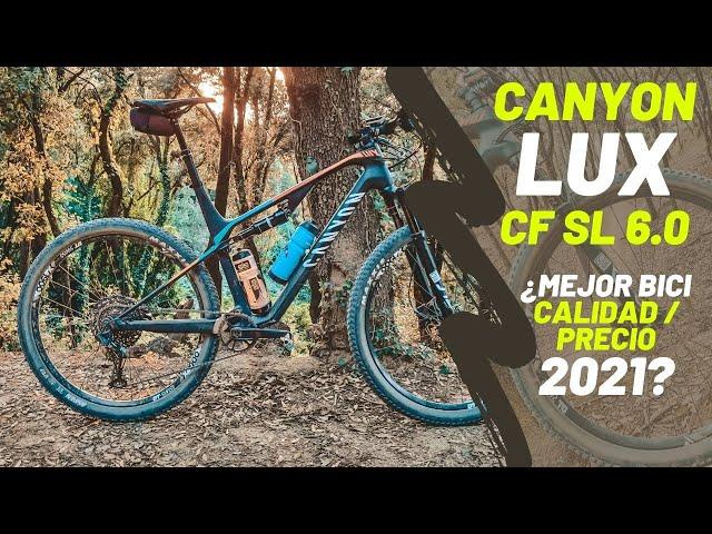 Review Canyon Lux CF SL 6.0 en Español 2020 - La mejor bici doble en relación calidad precio!