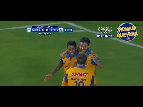 Los 22 Goles De Rafael Sóbis Con Tigres HD