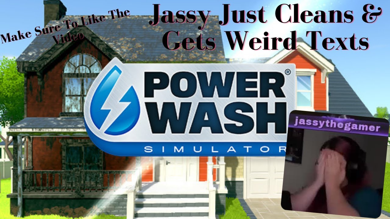 PowerWash Simulator: Jasmine Kept Getting Creepy Messages From Lexi & I Just Kept Cleaning