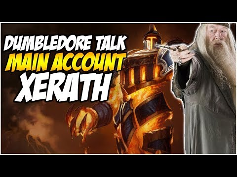 DUMBLEDORE TALK WHILE PLAYING XERATH - Climb to Master S8   League of Legends