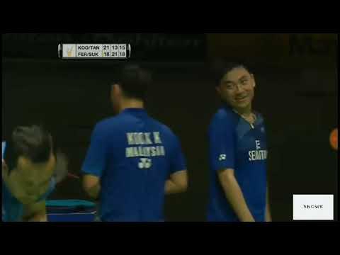 Winning Moment F Malaysia Masters 2016 - Kevin Sanjaya/Marcus Gideon vs Koo Kien Keat/Tan Boon Heong