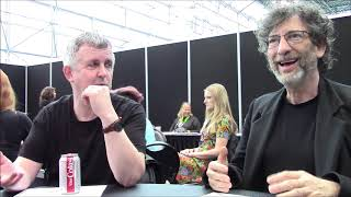 'Good Omens' - Neil Gaiman, Douglas Mackinnon Interview (NYCC)