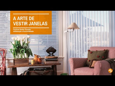 Cortinas Hunter Douglas: a arte de vestir janelas com sofisticação e funcionalidade from YouTube · Duration:  41 seconds