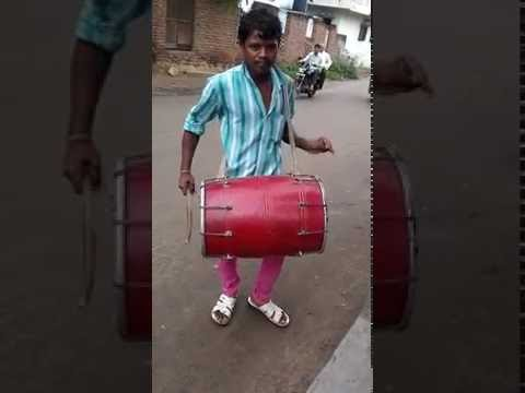 Dhol player in Gujarat