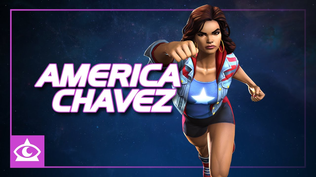 America Chavez Special Moves | Marvel Contest of Champions