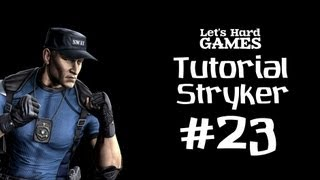 Mortal Kombat 9: Komplete Edition #23 Обучение Stryker [Tutorial][Fatality][PC]