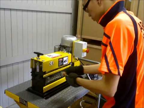 ATS-50 Benchtop Cable Stripping Machine by ARIES TOOLS