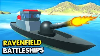 NEW BATTLE SHIPS IN RAVENFIELD UPDATE! (Ravenfield Funny Gameplay)