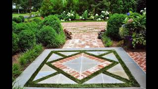 Unique Brick Walkway Ideas For Beautiful Home, Hardscape Path Design Ideas For Beautiful Home #3