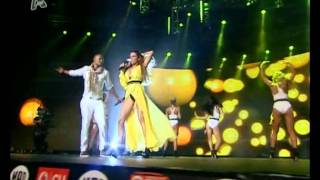 "Mohombi - Katerina Stikoudi ""Bumby ride - Coconot tree [Kane me na meinw]"" (MAD VMA 2011)"