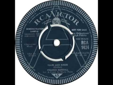 FRANKIE RANDALL - Tears And Kisses - RCA 1424 - UK 1964 Mod Beat Soul Dancer
