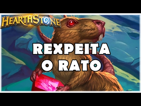 HEARTHSTONE - REXPEITA O RATO! (PADRÃO MIDRANGE HUNTER)
