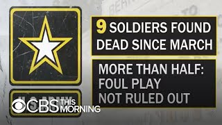 Army base Fort Hood under scrutiny after string of deaths