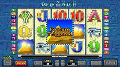 Queen of the Nile 2 Online Slot Pokies - Play Free