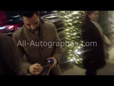Danny Pino signing autographs in Paris