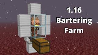 Piglin Bartering Farm (Expandable, Cheap) | Minecraft