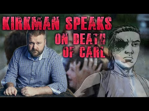 Robert Kirkman Breaks His Silence - Comments on Carl's Death