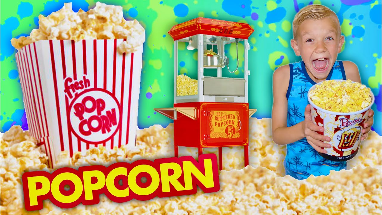 We FOUND A PoPcOrn Machine Inside Our House!