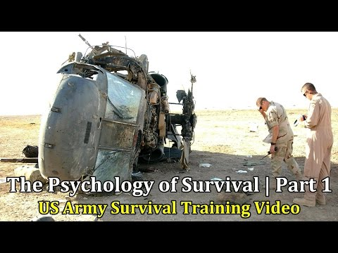 US Army Survival Training Video: The Psychology of Survival | Part 1