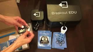 Breakout EDU Kit Unboxing